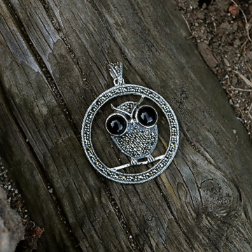 Shop Chakraas Owl Pendant - Holiday Gifts 2014