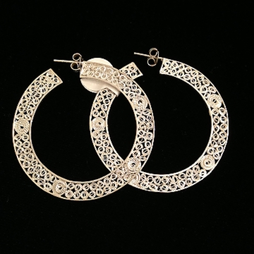 Shop Chakraas Dutch Hoop Earrings